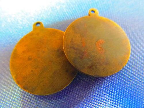 el arcon medallas religiosa virgen rezando mediana 380 76