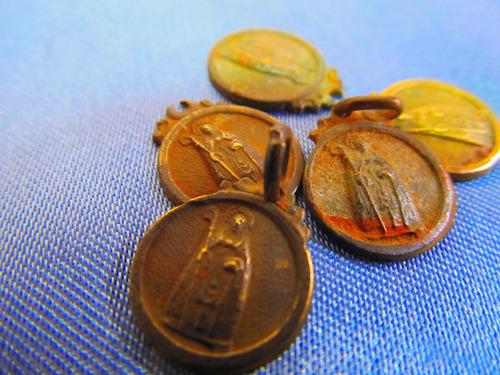 el arcon medallas religiosas san antonio abad lote x5 381 17