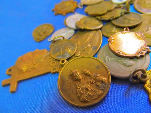 el arcon medallas religiosas varias virgen jesus etc 381 15
