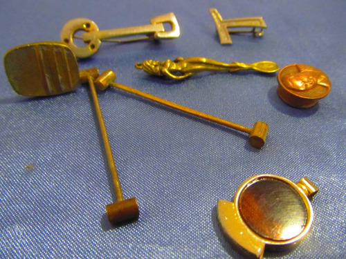 el arcon medallas trabacorbatas y gemelo lote x 8 381 84