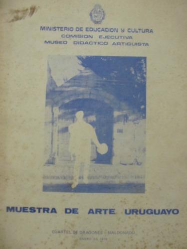 el arcon muestra de arte uruguayo cuartel de dragones