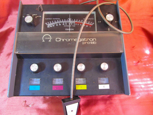 el arcon omega chromegatron pro-lab color analyzer 25501
