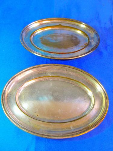 el arcon par de bandejas de plata 24,5x17,7cm  26051