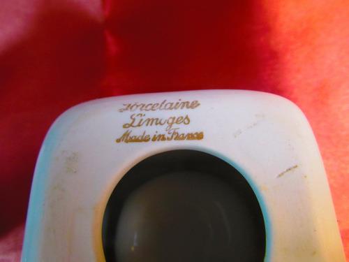 el arcon par de ceniceros de porcelana limoges france 41109