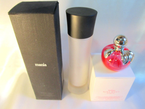 el arcon par de frascos perfume ninna ricci armani 11011