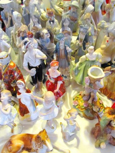 el arcon par de hermosos payasos de porcelana 14 cm 4009