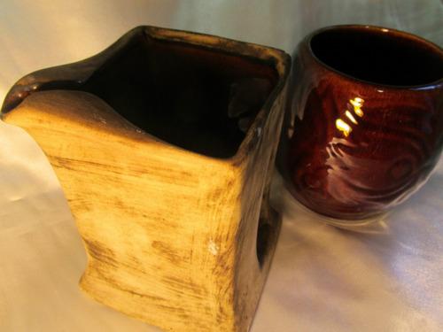 el arcon par de jarras chopp cerveza de ceramica 18038