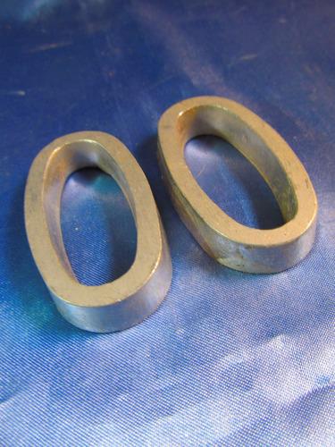 el arcon par de numeros cero de metal 6,3cm 41061