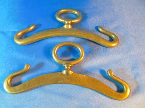 el arcon par de perchas de metal 15,5cm 50056