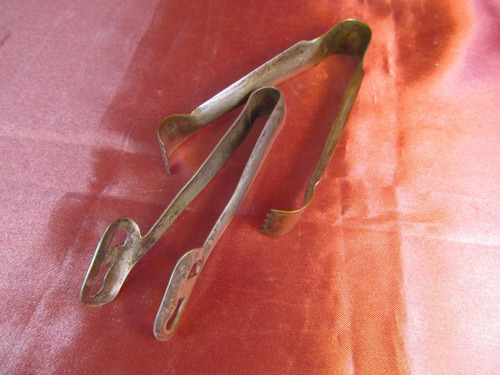 el arcon par de  pinzas para hielo de metal  69502