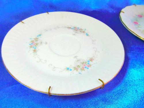 el arcon par de platos de porcelana tsuji  de 15cm 24123