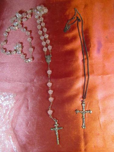 el arcon par de rosarios de metal 23520