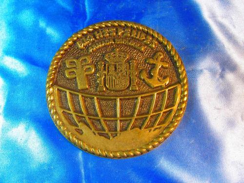 el arcon placa de bronce circular armada española 57506
