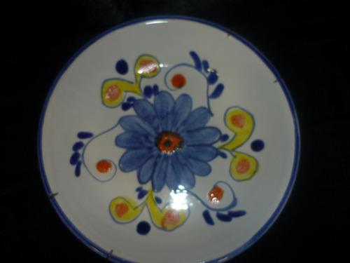 el arcon plato ceramica carstens pintado a mano 20 cm 3001