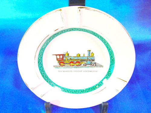 el arcon plato de porcelana cenicero ind argentina 14106