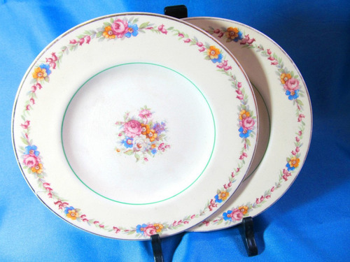 el arcon plato de porcelana england woods ivory ware 16018