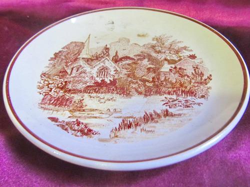 el arcon plato de porcelana hartford iglesia  16,5 cm 5103