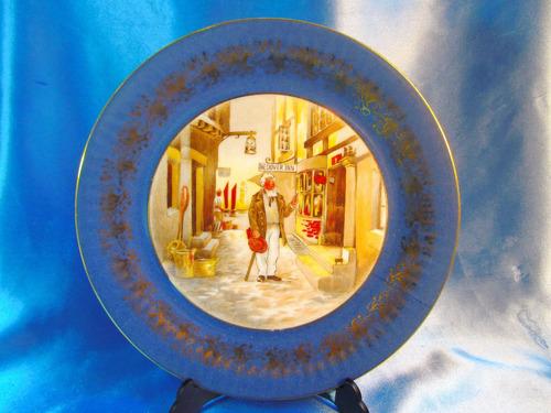 el arcon plato de porcelana tsuji escena galante 24,7 44112
