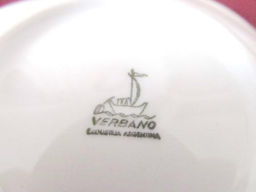 el arcon plato de porcelana verbano motivo rosa 9,5cm 1011