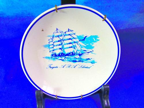 el arcon plato porcelana hartford fragata libertad  12111