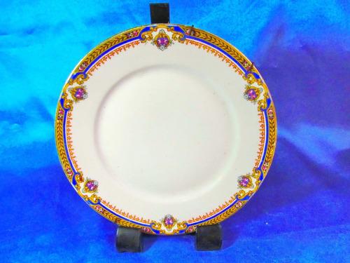 el arcon plato porcelana made in france limoges 19cm  24116