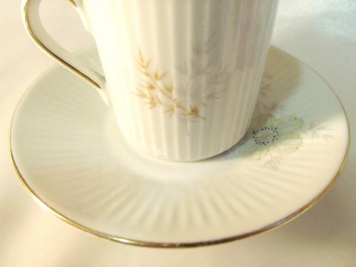 el arcon pocillo de cafe con plato porcelana verbano 18023