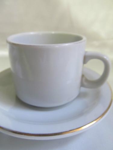 el arcon pocillo taza de cafe y plato porcelana tsuji  7004