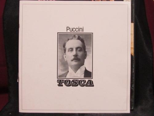 el arcon puccini opera tosca box set 2 lp*caballe*carreras