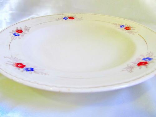 el arcon raro plato de porcelana boulogne 23cm (hay 2) 7008