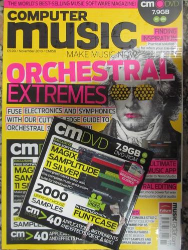 el arcon revista computer music - noviembre 2010