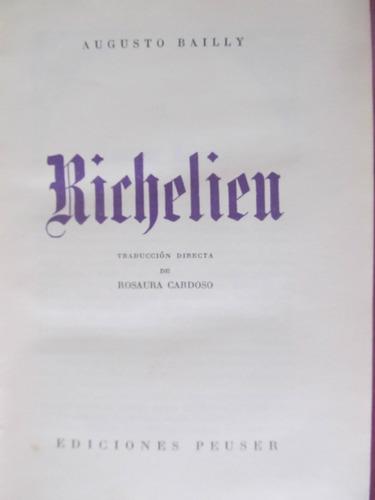 el arcon richelieu por augusto bailly edicion de 1952