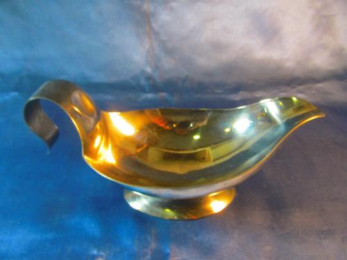 el arcon salsera de acero inoxidable impecable 20,5cm 35051