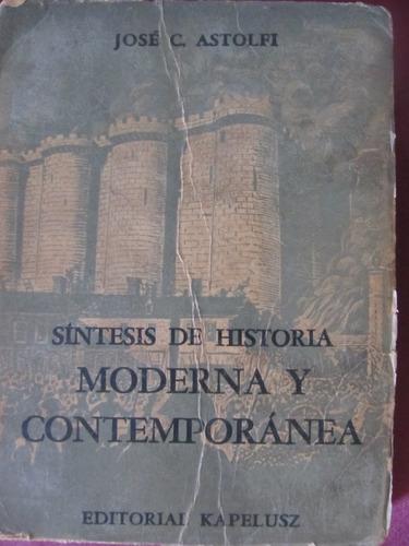 el arcon sintesis de historia moderna y contemporanea