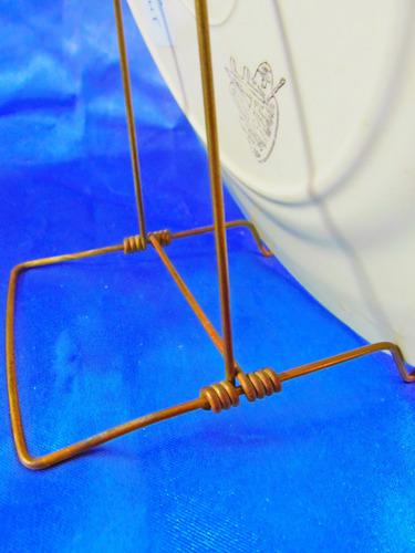 el arcon soporte atril para plato de exhibicion 21 cm 565