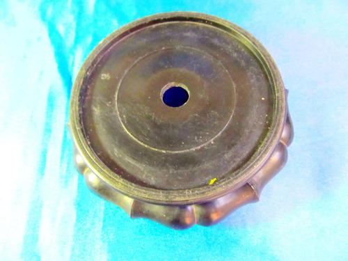 el arcon soporte base para figura jarron de plastico 35509