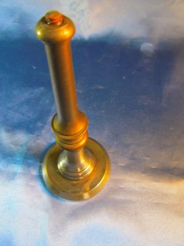 el arcon soporte de pie de bronce para lampara 15,5cm 40055