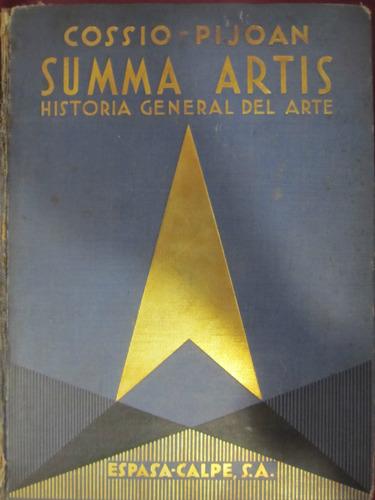 el arcon summa artis historia general del arte tomo ii