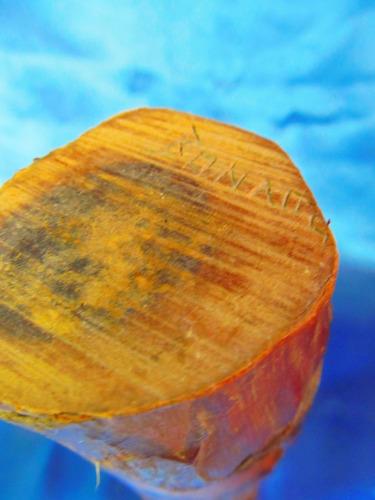 el arcon talla de madera rostro tiki   20 cm 12053