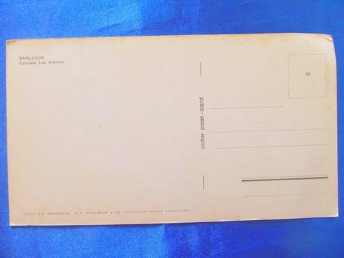 el arcon tarjeta postal bariloche cascada los alerces 43115