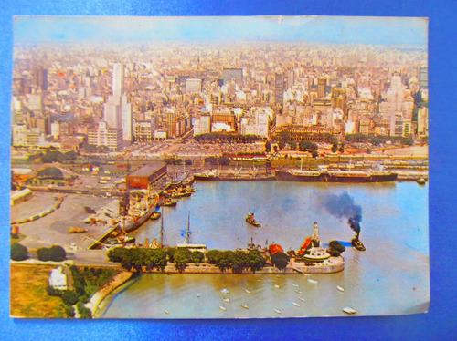 el arcon tarjeta postal bs as foto ciudad y puerto 431 04
