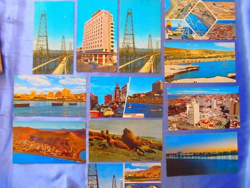 el arcon tarjeta postal chubut puerto madryn playa 43125