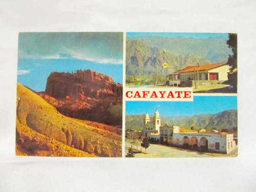 el arcon tarjeta postal collage fotos de cafayate salta