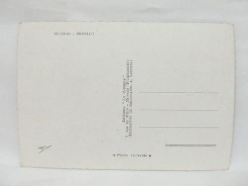 el arcon tarjeta postal collage fotos de monaco