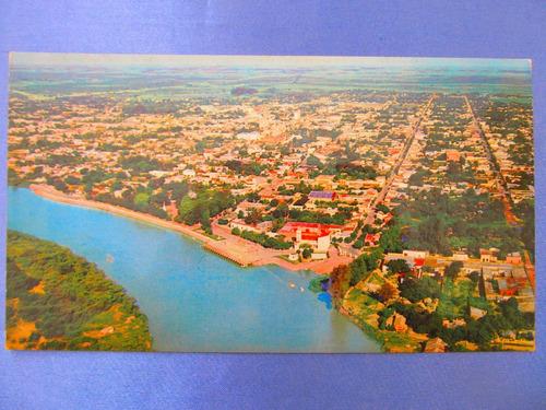 el arcon tarjeta postal corrientes goya vista aerea 431 09