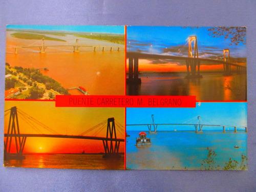 el arcon tarjeta postal corrientes puente carretero 431 09