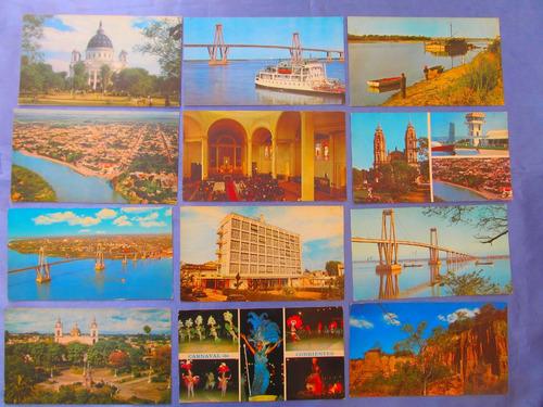 el arcon tarjeta postal corrientes puente g. belgrano 431 09
