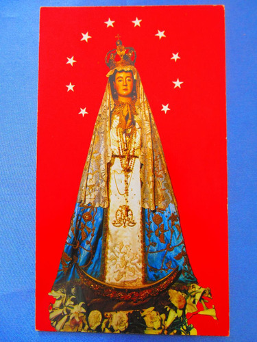 el arcon tarjeta postal corrientes virgen de itati 431 09