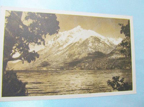 el arcon tarjeta postal foto  cerro catedral 1958  142  04