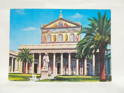 el arcon tarjeta postal foto de basilica di s. paolo roma