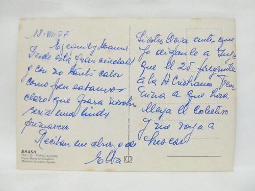 el arcon tarjeta postal foto de brasil porto alegre